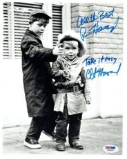 Ron & Clint Howard Signed Andy Griffith Autographed 8x10 BW Photo PSA/DNA#W62697
