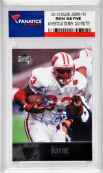 Ron Dayne University of Wisconsin Badgers Autographed 2011 Upper Deck College Legends #59 Card