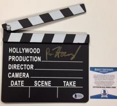 RON HOWARD Autograph Signed Movie Clapboard BAS Beckett COA ~ A BEAUTIFUL MIND