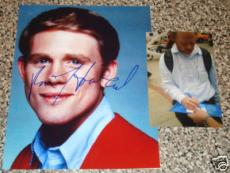 Ron Howard Autographed 8x10 Photo (w/ Proof Signing)