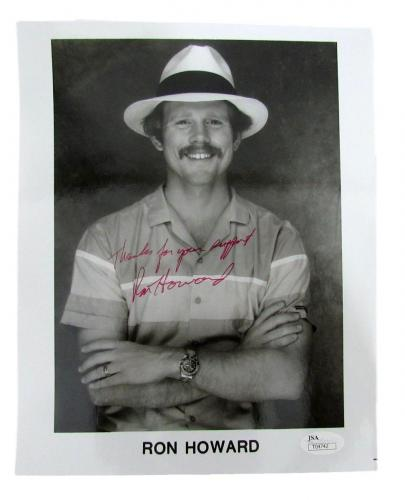Ron Howard Autographed/Signed 8x10 Photo Inscribed JSA 131838