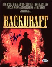 Ron Howard Backdraft Signed 8.5x11 Photo Autographed BAS #D05676