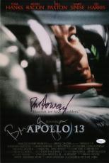 Ron Howard Brian Grazer signed autographed 12x18 Apollo 13 poster photo JSA COA
