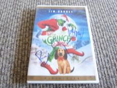 Ron Howard & Brian Grazer The Grinch Christmas Signed DVD Cover PSA Guaranteed