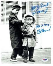 Ron Howard & Clint Howard Signed Andy Griffith Auto 8x10 Photo PSA/DNA #V93355