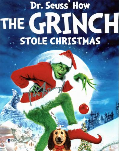 Ron Howard How the Grinch Stole Christmas Signed 11x14 Photo BAS #D01919