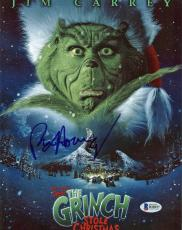 Ron Howard How the Grinch Stole Christmas Signed 8.5x11 Photo BAS #B18157