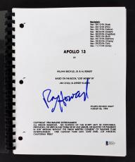 Ron Howard Signed Apollo 13 Movie Script Autographed BAS #D05674
