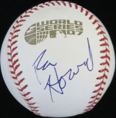 Ron Howard Signed Authentic Official 2007 World Series Baseball PSA/DNA #M83660