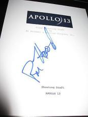 Ron Howard Signed Autograph Apollo 13 Movie Script Full Script Coa In Person