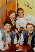 Ron Howard Signed Autographed 10X15 Photo Happy Days Sitting at table JSA COA