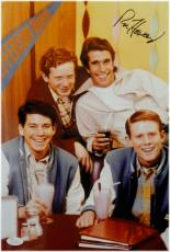 Ron Howard Signed Autographed 10X15 Photo Happy Days Sitting at table JSA S40478