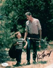 Ron Howard Signed Autographed 8X10 Photo Andy Griffin Show Fishing Poles JSA