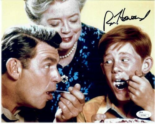 Ron Howard Signed Autographed 8X10 Photo Andy Griffith Show Eating JSA S37681