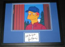 Ron Howard Signed Framed 11x14 Photo Display JSA The Simpsons