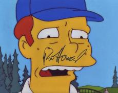 RON HOWARD signed *THE SIMPSONS* 8X10 photo W/COA A