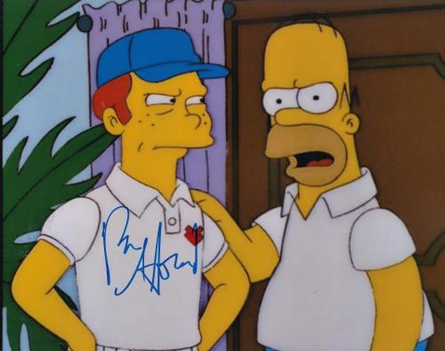 RON HOWARD signed (THE SIMPSONS) 8X10 photo W/COA *WHEN YOU DISH UPON A STAR*