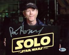 Ron Howard Solo A Star Wars Story Signed 8x10 Photo BAS #D05838