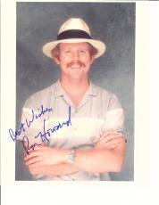 Ron Howard Striped Shirt Signed Photo Autographed W/coa 8x10