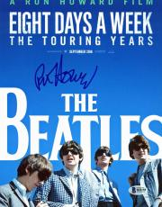 Ron Howard The Beatles: Eight Days a Week Signed 8.5x11 Photo BAS #B18159