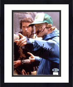 Ron Howard & Val Kilmer Willow Signed 8x10 Photo BAS #B71931