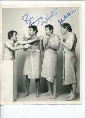 Ron Leibman Tony Roberts John Cullum Doubles Broadwa Play Signed Autograph Photo