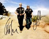 Ron Perlman and Charlie Hunnam Signed - Autographed Sons Of Anarchy SOA 8x10 inch Photo - Guaranteed to pass PSA or JSA