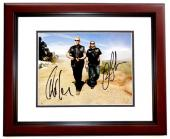 Ron Perlman and Charlie Hunnam Signed - Autographed Sons Of Anarchy SOA 8x10 inch Photo MAHOGANY CUSTOM FRAME - Guaranteed to pass PSA or JSA