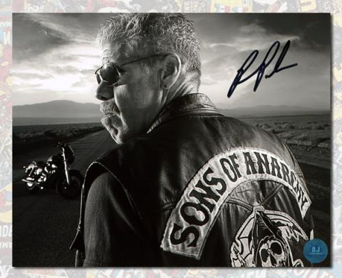 Ron Perlman Autographed Clay Morrow Sons Of Anarchy 8x10 Photo