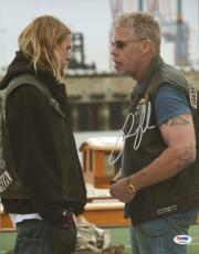 Ron Perlman Signed 11x14 Photo PSA/DNA Sons of Anarchy Picture w/ Charlie Hunnam