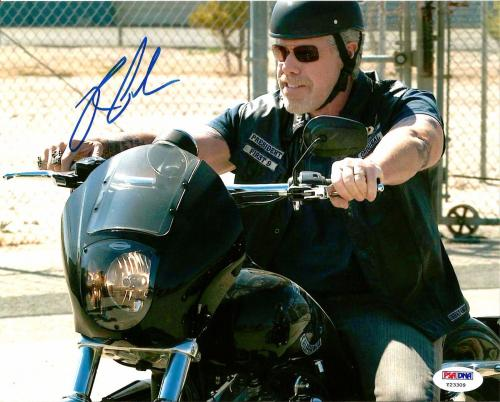 Ron Perlman SONS OF ANARCHY SOA CLAY Signed 8x10 Photo PSA/DNA COA #2