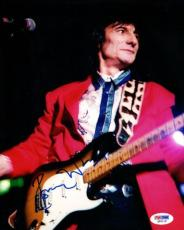 Ron Ronnie Wood Autographed Signed 8x10 Photo The Rolling Stones PSA/DNA #Q93119