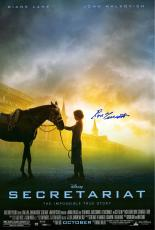 Ron Turcotte Autographed Secretariat Movie Poster