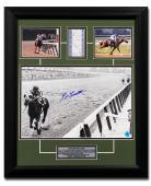 Ron Turcotte Signed Secretariat Triple Crown Belmont Bet Ticket 19x23 Frame