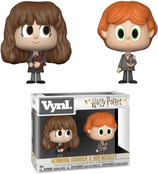 Ron Weasley & Hermione Granger Harry Potter VYNL Funko