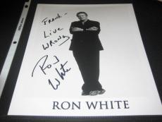 Ron White Comedian Legend Signed Autographed 8x10 Photograph