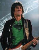 Ron Wood Autographed Signed 11x14 Rolling Stones Photo AFTAL