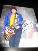 RON WOOD SIGNED AUTOGRAPH 8x10 PHOTO ROLLING STONES CONCERT GUITAR BLACK SUGAR D