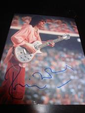 RON WOOD SIGNED AUTOGRAPH 8x10 PHOTO ROLLING STONES CONCERT IN PERSON COA AUTO