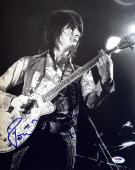 RON WOOD SIGNED AUTOGRAPHED 11x14 PHOTO VINTAGE THE ROLLING STONES PSA/DNA