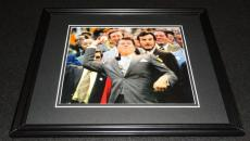 Ronald Reagan 1972 World Series 1st Pitch Framed 8x10 Photo Poster