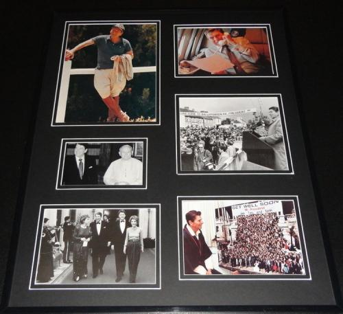 Ronald Reagan Framed 16x20 Photo Collage B