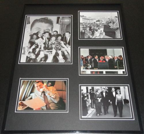 Ronald Reagan Framed 16x20 Photo Collage C
