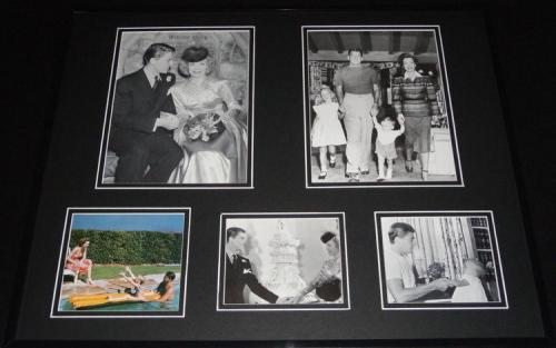 Ronald Reagan & Nancy Reagan Framed 16x20 Photo Collage B