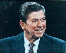 Ronald Reagan unsigned 8x10 photo,
