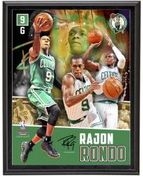 Rajon Rondo Boston Celtics Sublimated 10.5'' x 13'' Player Collage Photograph Plaque - Mounted Memories