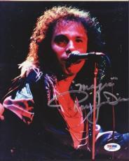 Ronnie James Dio Autographed Signed 8x10 Photo PSA/DNA #Q89222