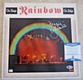 Ronnie James Dio Rainbow MAGIC Autographed Signed LP Beckett BAS Certified