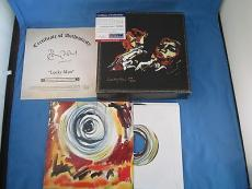 Ronnie Ron Wood Rolling Stones Lucky Man 12 Signed PSA DNA COA Autograph Box Set