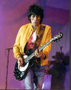Ronnie Wood 11x14 Autographed Signed Guitar Playing Photo AFTAL